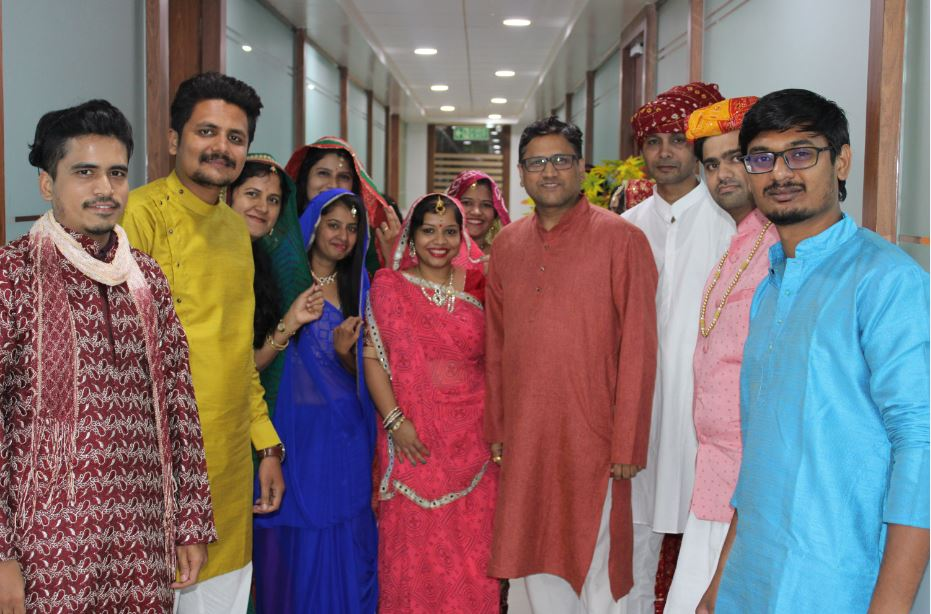 Traditional Day at Fidel Softech Pvt. Ltd